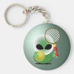 Tennis Fan Key Chains