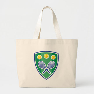 Tennis gift large tote bag