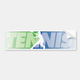 Tennis Gifts for tennis players and tennis fans Bumper Sticker