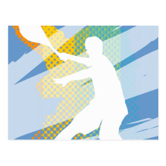 Tennis Gifts for tennis players and tennis fans Postcards