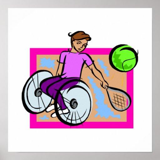 Tennis Girl Posters