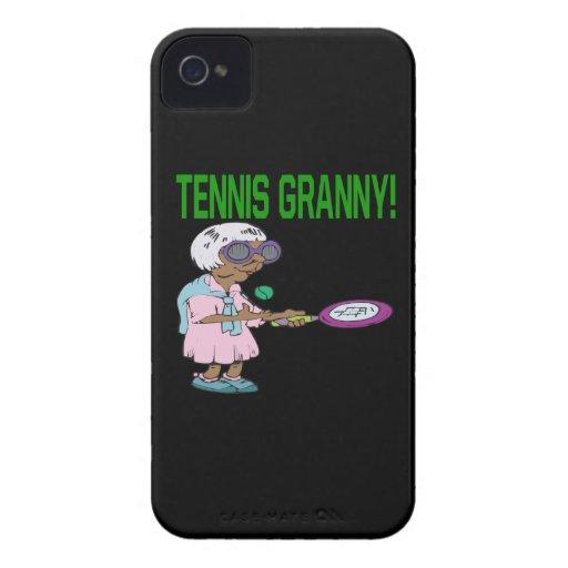 Tennis Granny iPhone 4 Cover