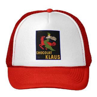 Tennis Hat:  Cappiello - Chocolat Klaus