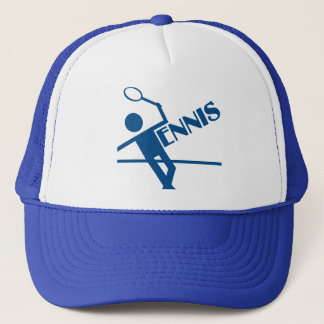 Tennis hat, customize trucker hat