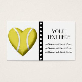Tennis Heart Business Card