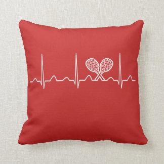 Tennis Heartbeat Cushion