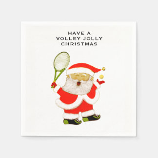 tennis holiday party disposable serviettes