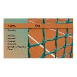 tennis instructor business card template