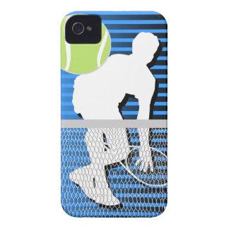 Tennis iPhone 4 Case-Mate Case Blue