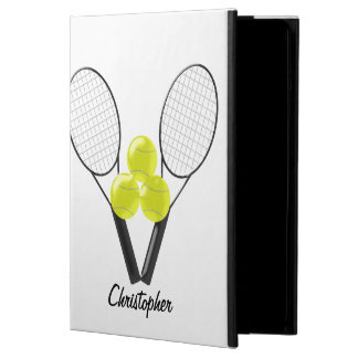 Tennis Just Add Name iPad Air Cover