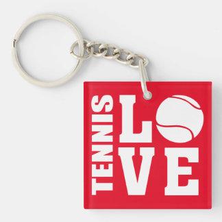 Tennis Key Ring