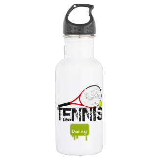 TENNIS Kid's Sports Water Bottle Personalized