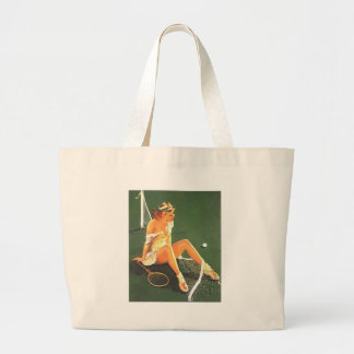 tennis large tote bag