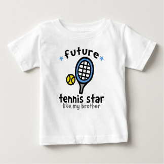 Tennis Like Brother Baby T-Shirt