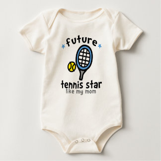 Tennis Like Mum Baby Bodysuit