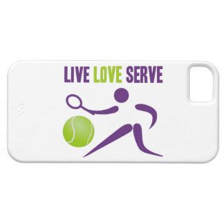 Tennis: Live. Love. Serve Barely There iPhone 5 Case
