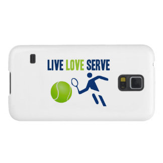 Tennis: Live. Love. Serve Case For Galaxy S5