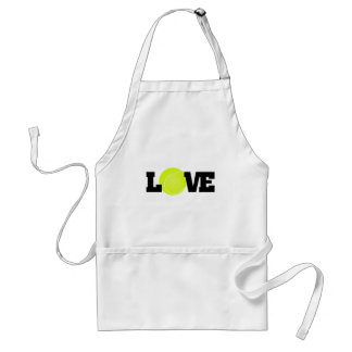 Tennis Love Adult Apron