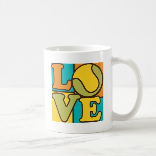 Tennis Love Coffee Mug