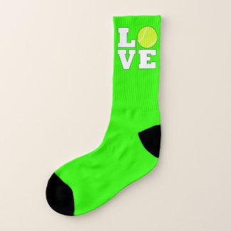 Tennis Love Custom Color Tennis Player Socks