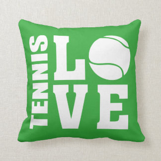 Tennis Love Green Cushion