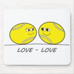 Tennis Love-Love Mouse Pad