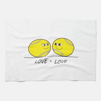 Tennis Love-Love Tea Towel