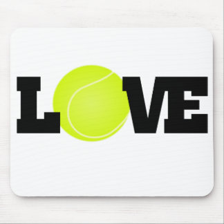 Tennis Love Mouse Mat