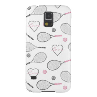 Tennis Love Pattern Galaxy S5 Cover