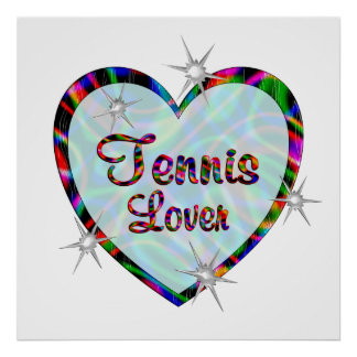 Tennis Lover Poster