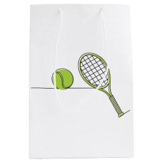 Tennis Lover | tennis gift Medium Gift Bag