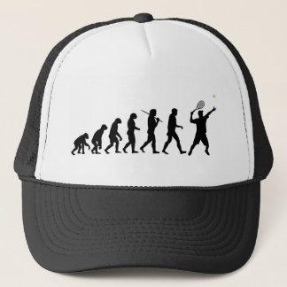 Tennis Man Trucker Hat