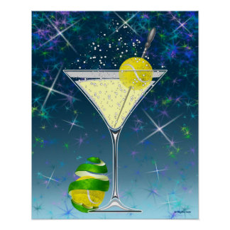 Tennis Martini, tennis Posters