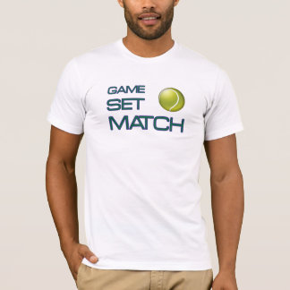 Tennis match T Shirt