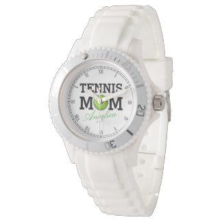 Tennis Mom Custom Name Watch