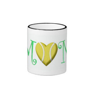 Tennis Mom, Green Mugs