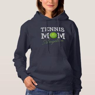 Tennis Mom Personalized Name Hoodie
