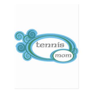 Tennis Mom Swirl Postcard