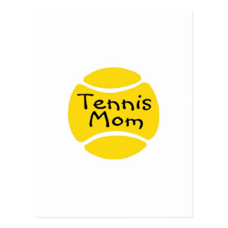 Tennis Mom Tennis Ball Post Cards