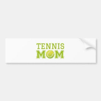 Tennis mom, text design for t-shirt bumper sticker