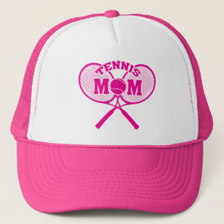 Tennis mom trucker hat