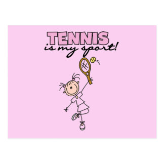 Tennis My Sport Tshirts and Gifts Postcards