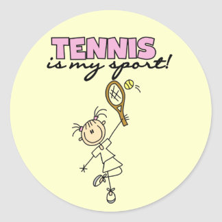 Tennis My Sport Tshirts and Gifts Sticker