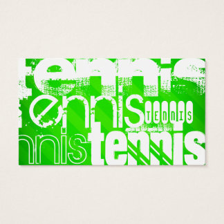 Tennis; Neon Green Stripes.