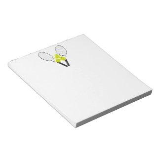 Tennis Notepad