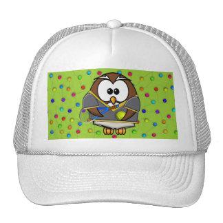 tennis-owl boy mesh hat