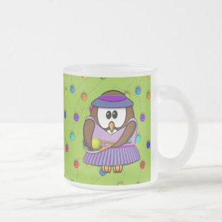 tennis-owl mug