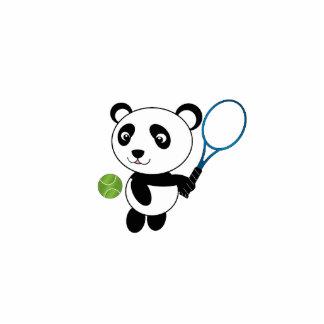 Tennis panda acrylic cut outs