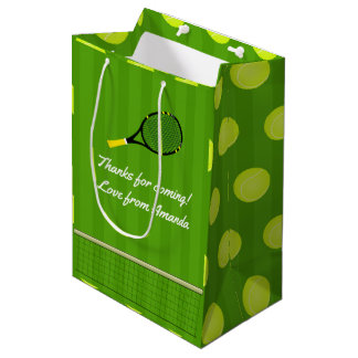Tennis Party Guest Medium Gift Bag