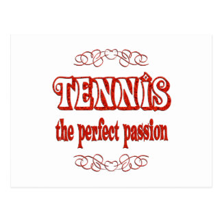 Tennis Passion Post Card